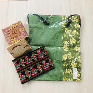 シセイドウ(SHISEIDO (資生堂))の資生堂 巾着 財布 おばあちゃん(日用品/生活雑貨)