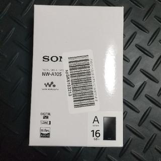 ウォークマン(WALKMAN)のSONY ウォークマン Aシリーズ NW-A105(B)(ポータブルプレーヤー)