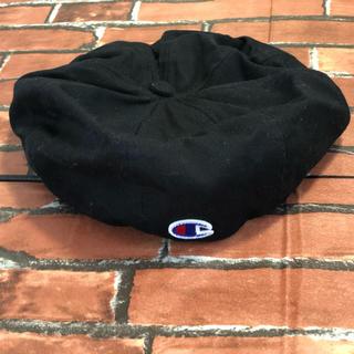 チャンピオン(Champion)のチャンピオン champion ベレー帽 黒 (ハンチング/ベレー帽)