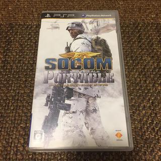 ソニー(SONY)のPSP SOCOM(携帯用ゲームソフト)