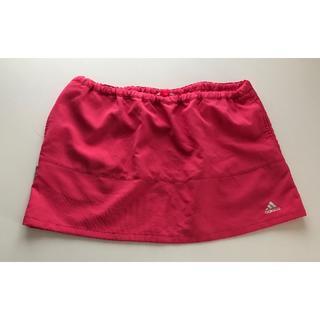 アディダス(adidas)のアディダス ピンク スカート (ミニスカート)