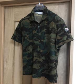 モンクレール(MONCLER)のモンクレール正規品 カモフラ ポロシャツ メンズ M〜L(ポロシャツ)
