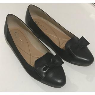 ダイアナ(DIANA)のダイアナ 24.5cm 本革 フラットシューズ(ローファー/革靴)