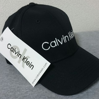 Calvin Klein - 新品未使用 カルバンクライン 帽子 キャップ ブラック
