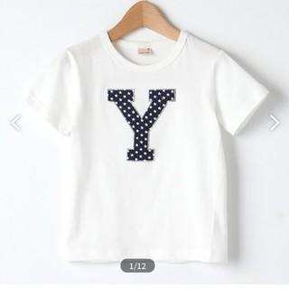 petit main - プティマイン Tシャツ アルファベット