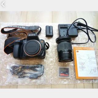 ソニー(SONY)のSONY製 一眼レフカメラ α350 DSLR-A350(デジタル一眼)