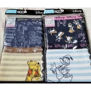 ディズニー(Disney)のドナルド&チップとデール&プーさん Lサイズ レディース ショーツ パンツ 4枚(ショーツ)
