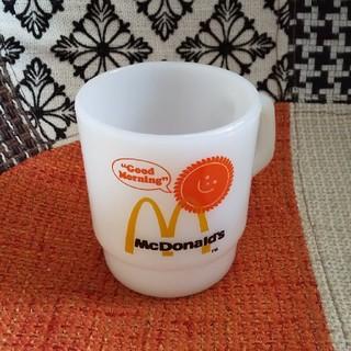 ファイヤーキング(Fire-King)のファイヤーキング マクドナルド マグカップ(食器)