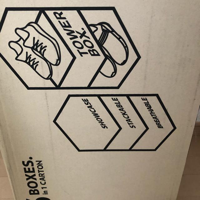 NIKE(ナイキ)のTOWERBOX  タワーボックス スニーカー収納 インテリア/住まい/日用品の収納家具(ケース/ボックス)の商品写真