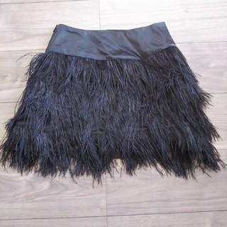 アウラアイラ(AULA AILA)のAULA AILA フェザースカート(ミニスカート)