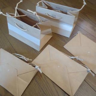 ロンハーマン(Ron Herman)の送料込非売品ロンハーマンRHインテリアショップバッグ小ショッパー5枚セット新品袋(ショップ袋)