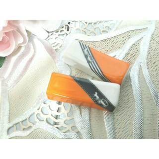 ポーセラーツ リボンシリーズ オレンジ 馬車 馬 お箸置き 2個セット(カトラリー/箸)
