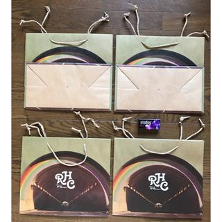 ロンハーマン(Ron Herman)の送料込 非売品 ロンハーマン RHCショップバッグ大ショッパー4枚セット 新品袋(ショップ袋)