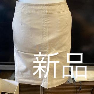 ワールドベーシック(WORLD BASIC)の新品ワールドスカート定価5990円サイズs(ひざ丈スカート)