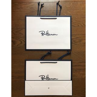 ロンハーマン(Ron Herman)の送料込 非売品 ロンハーマン ショップ バッグ 大ショッパー3枚セット 新品 袋(ショップ袋)