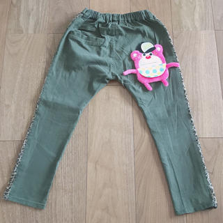 JAM - JAM ポケテン サイドヒョウ柄 パンツ 130cm