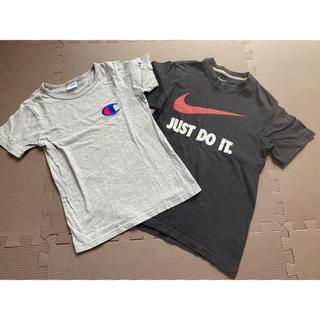 Champion - Tシャツ 2枚セット  champion130とNIKE140