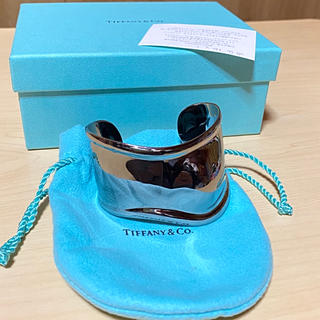 ティファニー(Tiffany & Co.)の人気の左手用 Tiffany ボーンカフ ティファニー(ブレスレット/バングル)