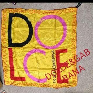 ドルチェアンドガッバーナ(DOLCE&GABBANA)の男女兼用 DOLCE&GABBANAスカーフ 未使用??(バンダナ/スカーフ)