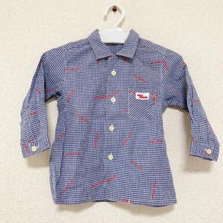 mikihouse - ミキハウス チェックシャツ 80