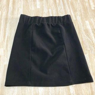 エモダ(EMODA)のEMODA 形綺麗なブラックスカート(ミニスカート)