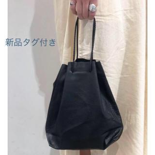 TODAYFUL - 新品タグ付き レザーパース 巾着 本革