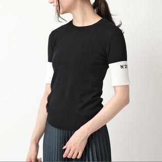 ヌメロヴェントゥーノ(N°21)のN°21 半袖(Tシャツ(半袖/袖なし))