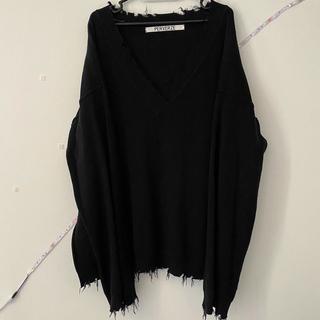 BEAUTY&YOUTH UNITED ARROWS - PERVERZE  v-neck Knit