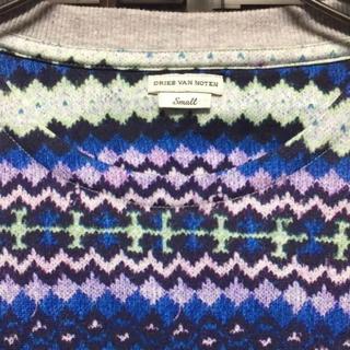 ドリスヴァンノッテン(DRIES VAN NOTEN)の美品 ドリスヴァンノッテン  総柄Tシャツ(Tシャツ/カットソー(半袖/袖なし))