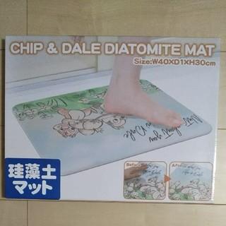 Disney - 珪藻土バスマット チップ&デール