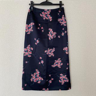 イエナ(IENA)のIENA フラワーブーケタイトスカート(ひざ丈スカート)