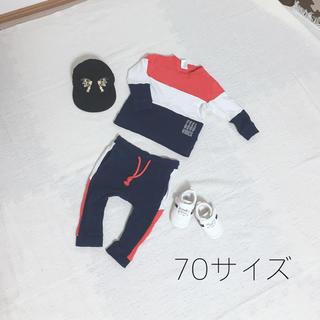 H&M - セットアップ シューズ キャップ まとめ売り 80サイズ