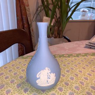 ウェッジウッド(WEDGWOOD)の新品 レア ウェッジウッド 花瓶 一輪挿し(花瓶)