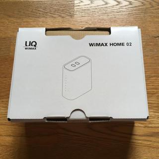 WiMAX  HOME02(PC周辺機器)