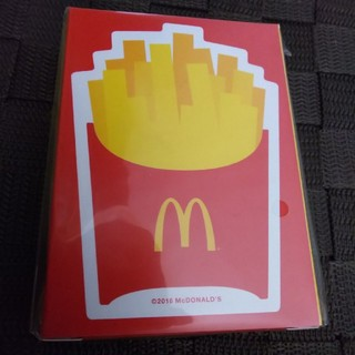 マクドナルド(マクドナルド)のマクドナルド トランプ ポテト柄 新品 未開封♪(トランプ/UNO)