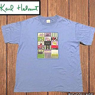 ピンクハウス(PINK HOUSE)のKARL HELMUT ビックプリントTEE‼️ ピンクハウス‼️(Tシャツ/カットソー(半袖/袖なし))