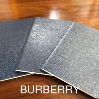 バーバリー(BURBERRY)のバーバリー アドレスブック(ノート/メモ帳/ふせん)