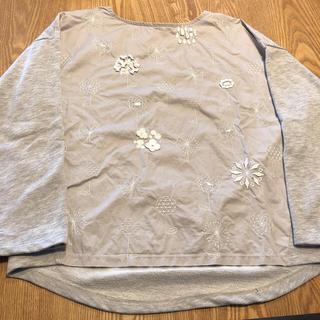 グラニフ(Design Tshirts Store graniph)のグラニフ 長袖 花刺繍(シャツ/ブラウス(長袖/七分))