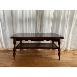 カリモクカグ(カリモク家具)のカリモク コロニアル センターテーブル(ローテーブル)