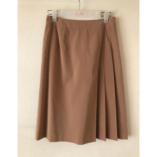 オールドイングランド(OLD ENGLAND)のサイドプリーツスカート(ひざ丈スカート)