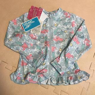 ディズニー(Disney)の110 ラッシュガード 長袖 しまむら 女の子 アリエル プリンセス ディズニー(水着)