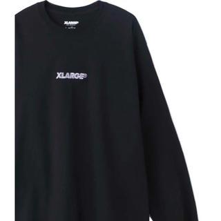 エクストララージ(XLARGE)のXLARGE ロンT ブラック L(Tシャツ/カットソー(七分/長袖))