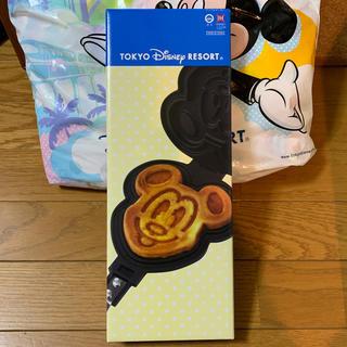 ディズニー(Disney)のディズニー ミッキー ワッフルメーカー ・ ミッキー ワッフル型 ・ ディズニー(調理道具/製菓道具)