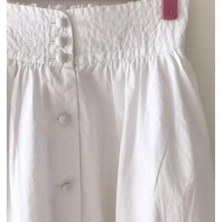 ウィルセレクション(WILLSELECTION)のウィルセレクション フレアースカート 白(ひざ丈スカート)