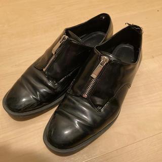 ザラ(ZARA)のZARA  ジップローファー(ローファー/革靴)