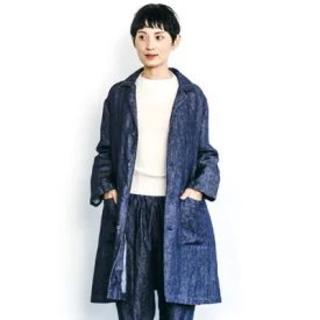 フォグリネンワーク(fog linen work)の新品☆fog linen work  リネン ジャケットコート(スプリングコート)