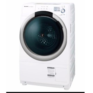 SHARP - ドラム式洗濯機 プラズマクラスター プチドラム ワンルームにも設置可能 乾燥機