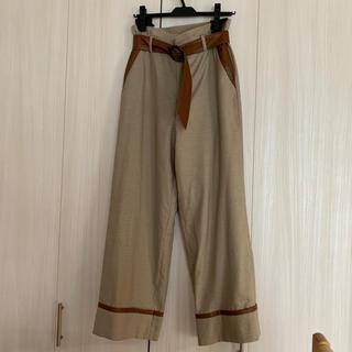 Ameri VINTAGE - SWITCH STRAIGHT PANTS Mサイズ