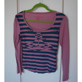 ヴィヴィアンウエストウッド(Vivienne Westwood)のヴィヴィアンウエストウッド 長袖 Tシャツ トップス カットソー(カットソー(長袖/七分))