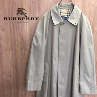 バーバリー(BURBERRY)の【激レア】バーバリーズ Burberrys ☆ノバチェック ステンカラーコート(ステンカラーコート)